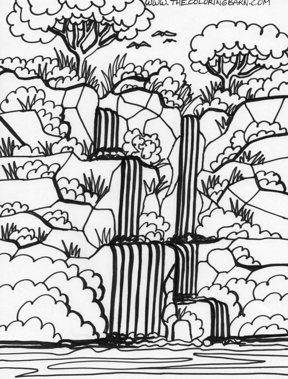 Amazon Rainforest Coloring Pages For Kids