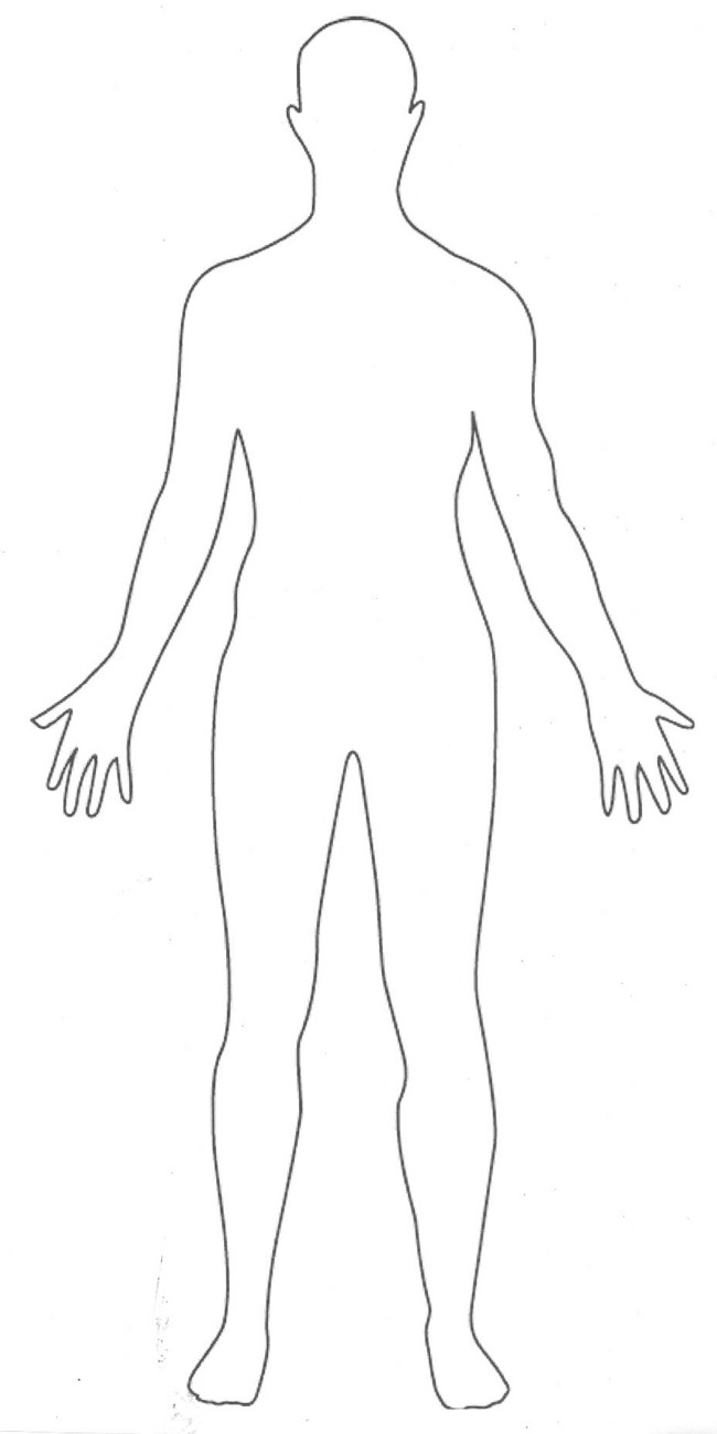 Coloring Pages Of The Human Body