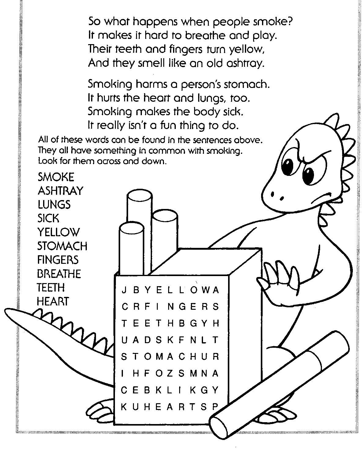 Red Ribbon Week Coloring Pages Free 02