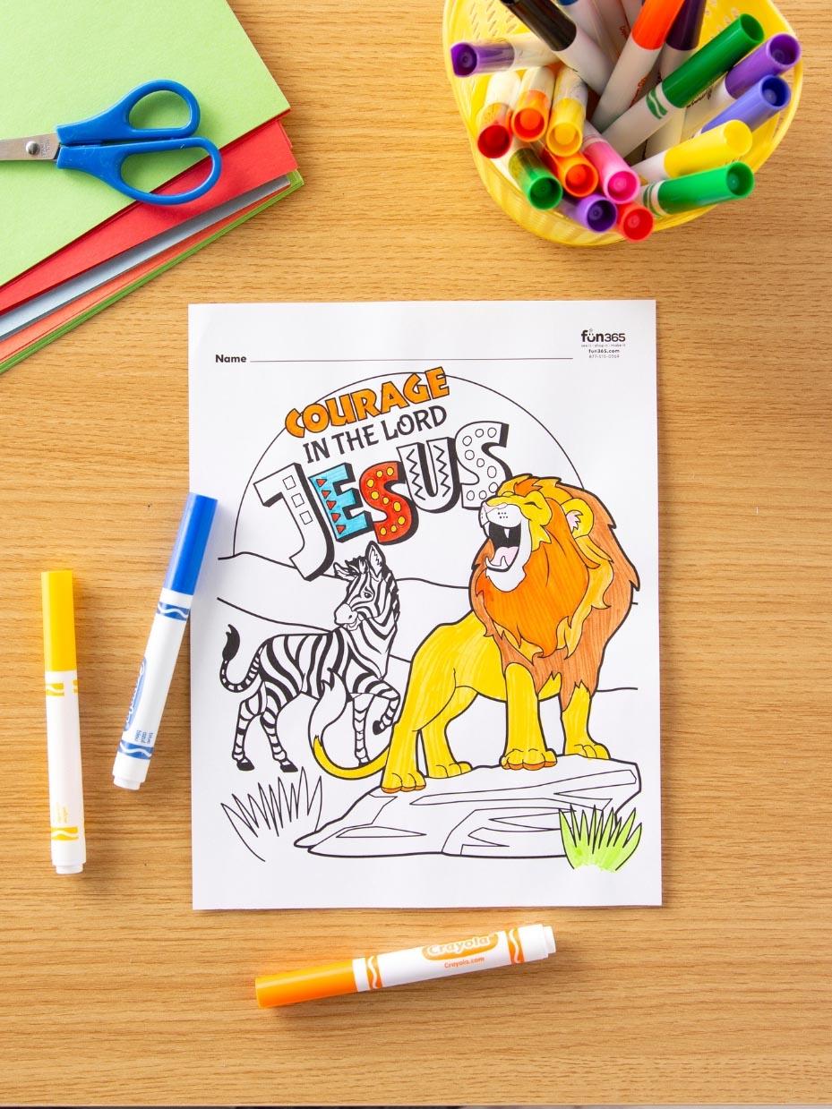 Safari Themed Activities For Kids