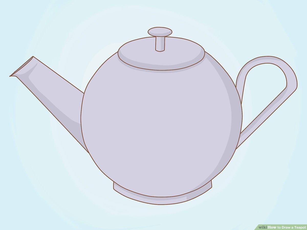 How To Draw A Teapot  6 Steps (with Pictures)