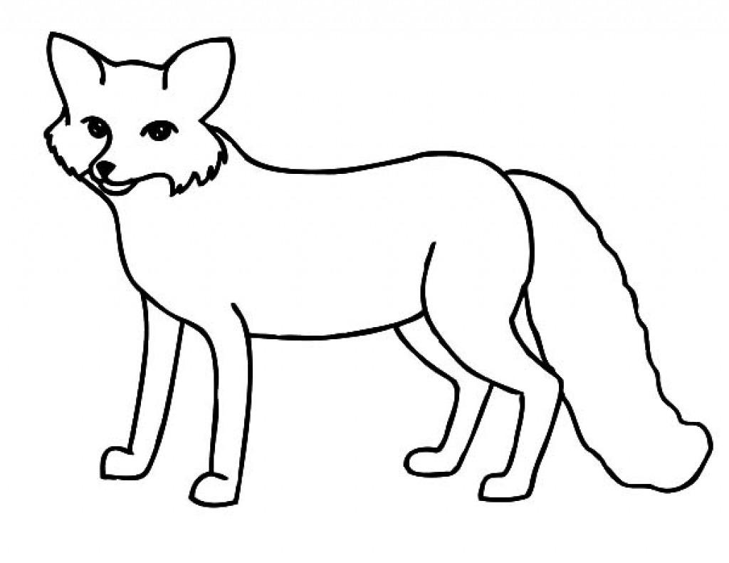 Fox In Socks Coloring Pag