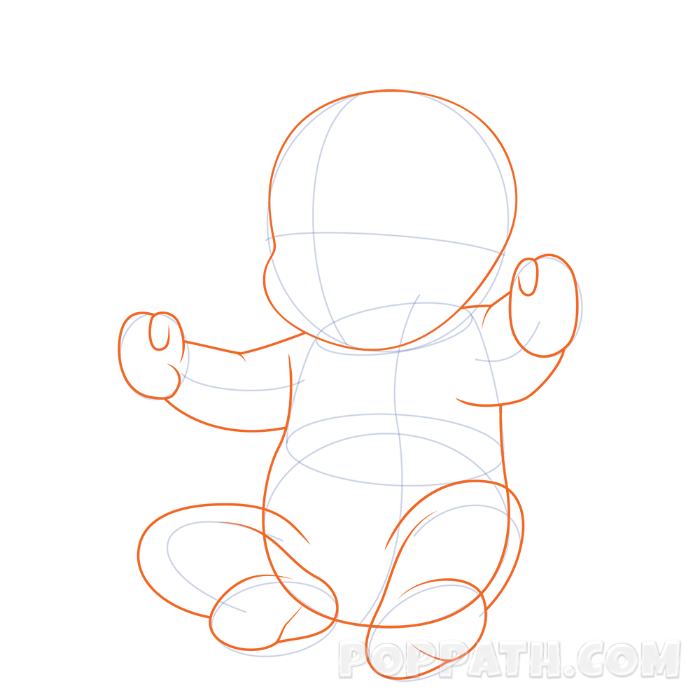 How To Draw A Baby With A Pacifier – Pop Path