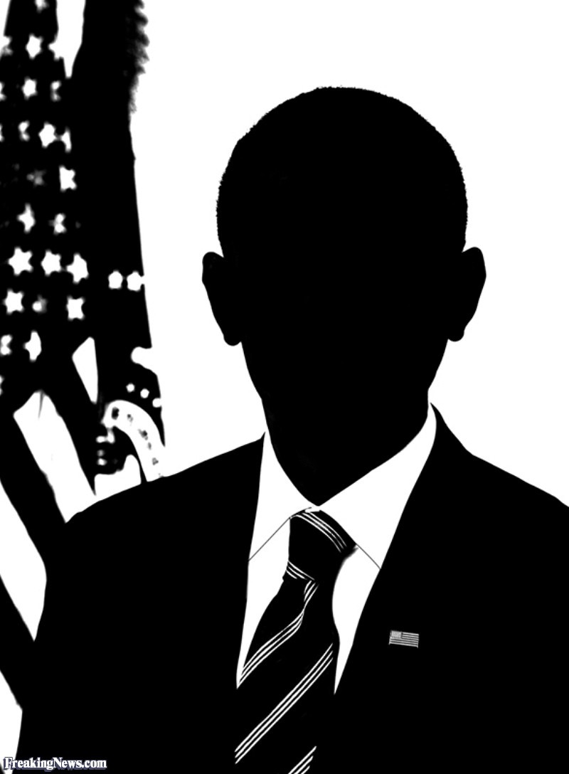Barack Obama Silhouette Pictures