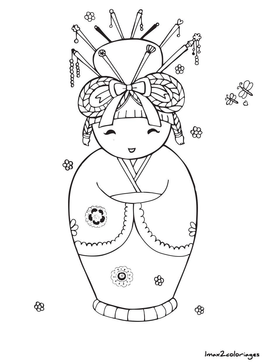 Icolor  Kokeshi Dolls  Etc Etc
