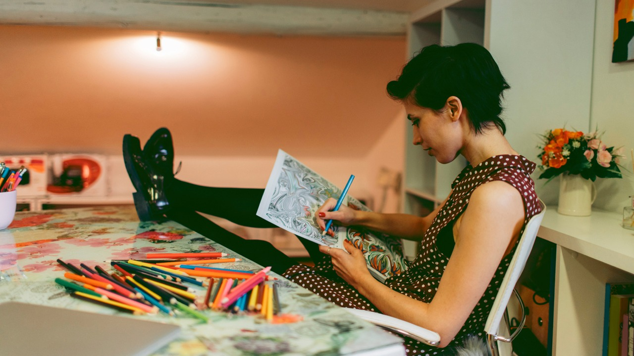 Why Coloring In The Office Should Be A Thing