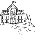 Open House Coloring Pages