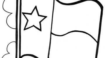 Texas Coloring Book Pages