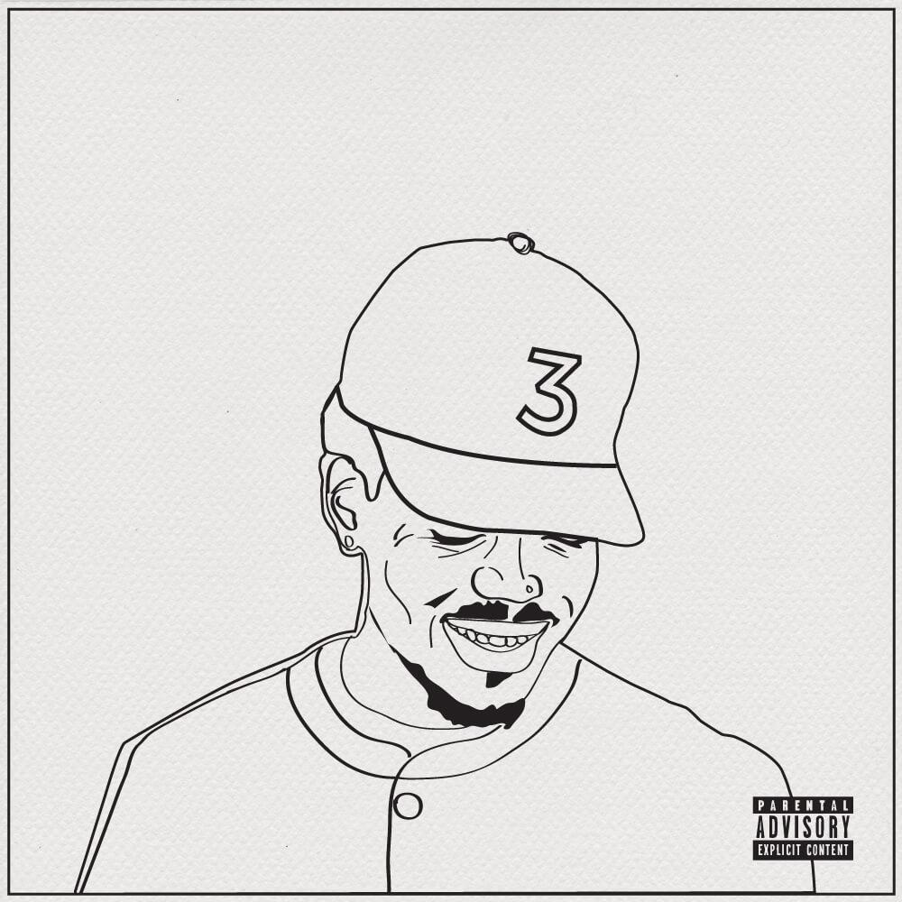 "Chance The Rapper Artfully Paints Canvas In ""coloring Book"
