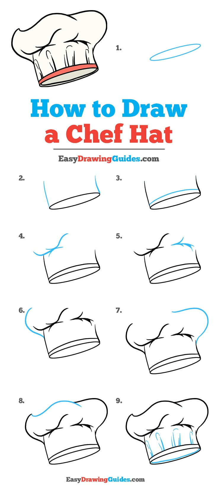 How To Draw A Chef Hat