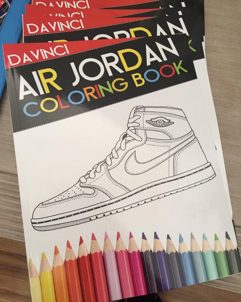 Webuyblack   Books   Air Jordan Coloring Book