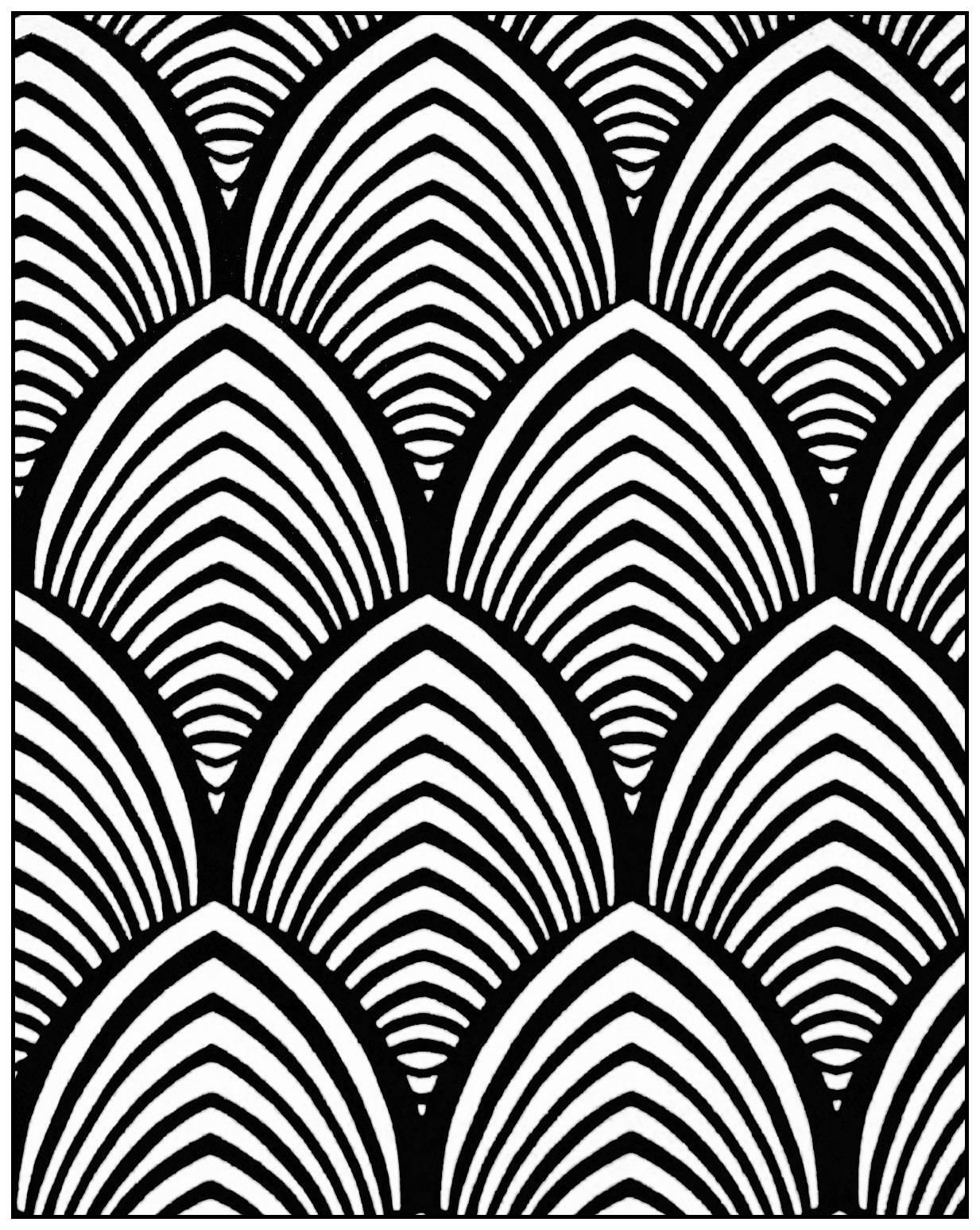 Geometric Patterns Art Deco 4
