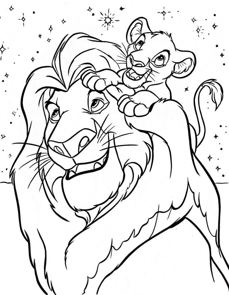 Coloring Pages ~ The Lion King Coloringk Pages Kovu At Getdrawings