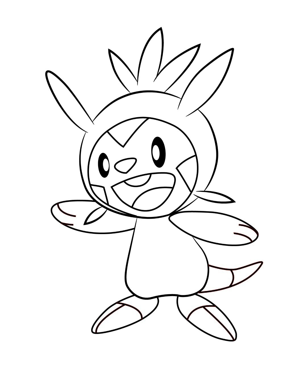 Best Hd Pokemon X And Y Coloring Pages Frogadier Design