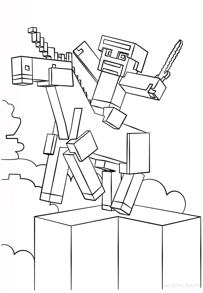 Coloring Pages ~ Coloring Pages To Print Minecraft Pictures Free