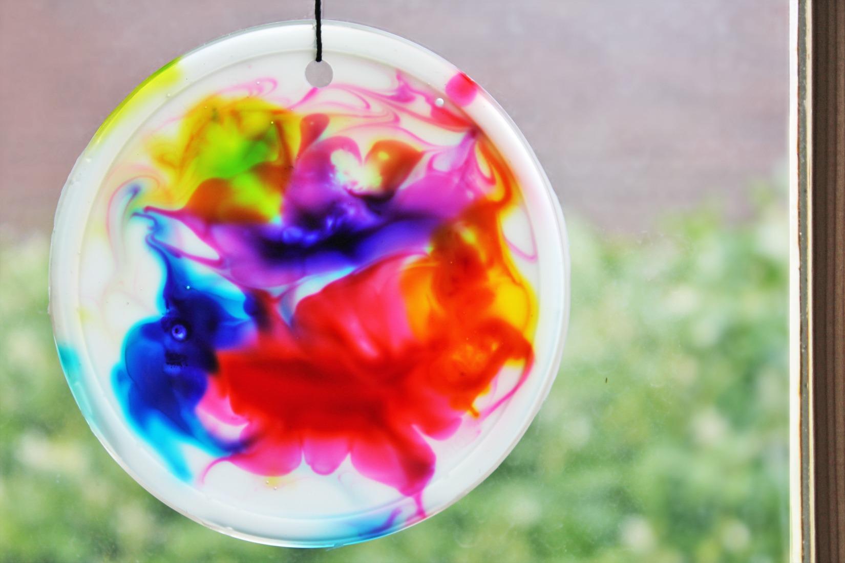 Art For Kids  Cosmic Suncatchers