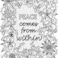 Quote Coloring Pages Pdf