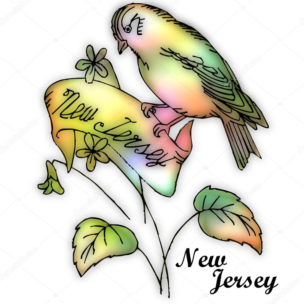 New Jersey State Bird — Stock Photo © Jrtburr  51257467