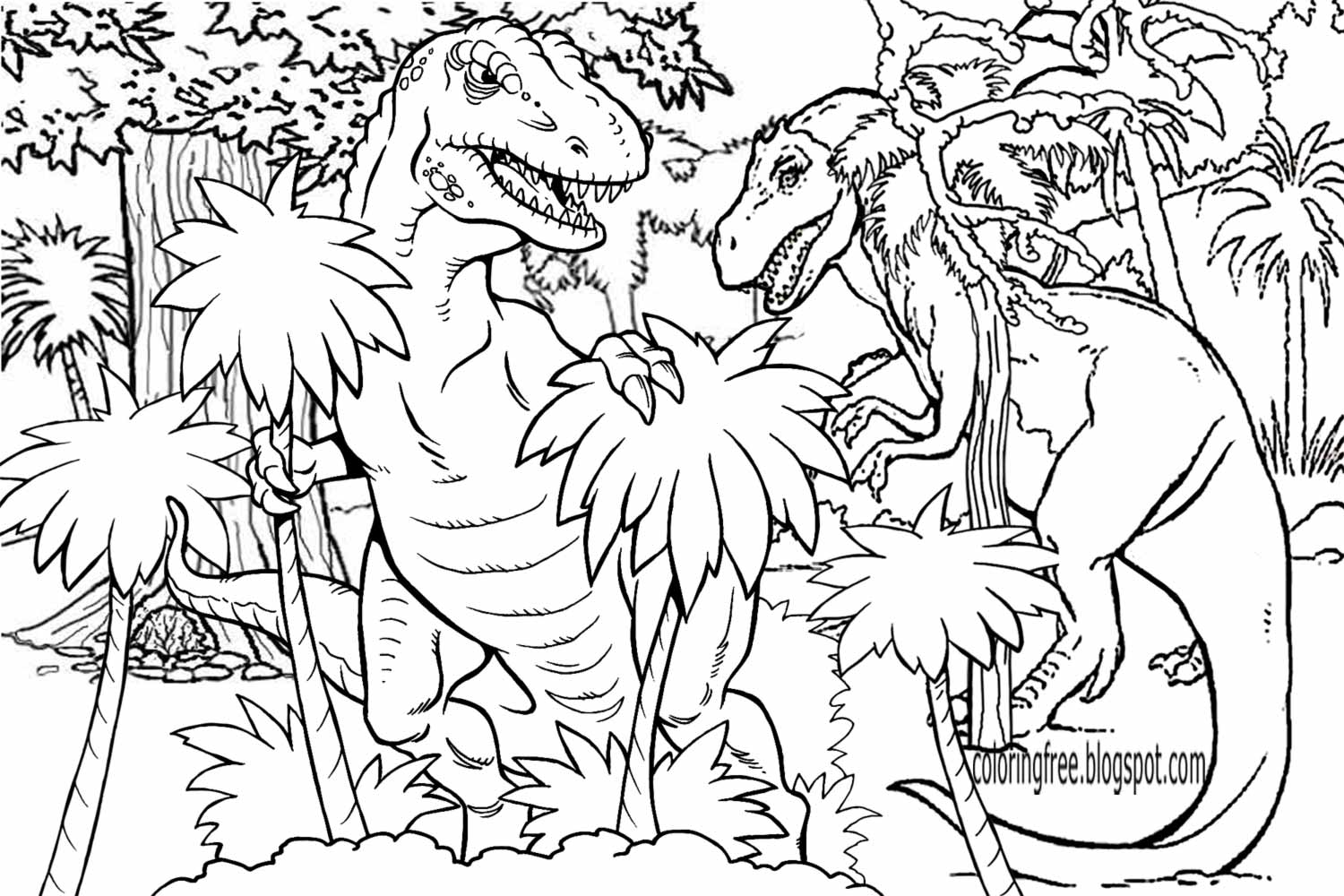 Jesus And Dinosaurs Coloring Book