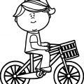 Bike Helmet Coloring Pages
