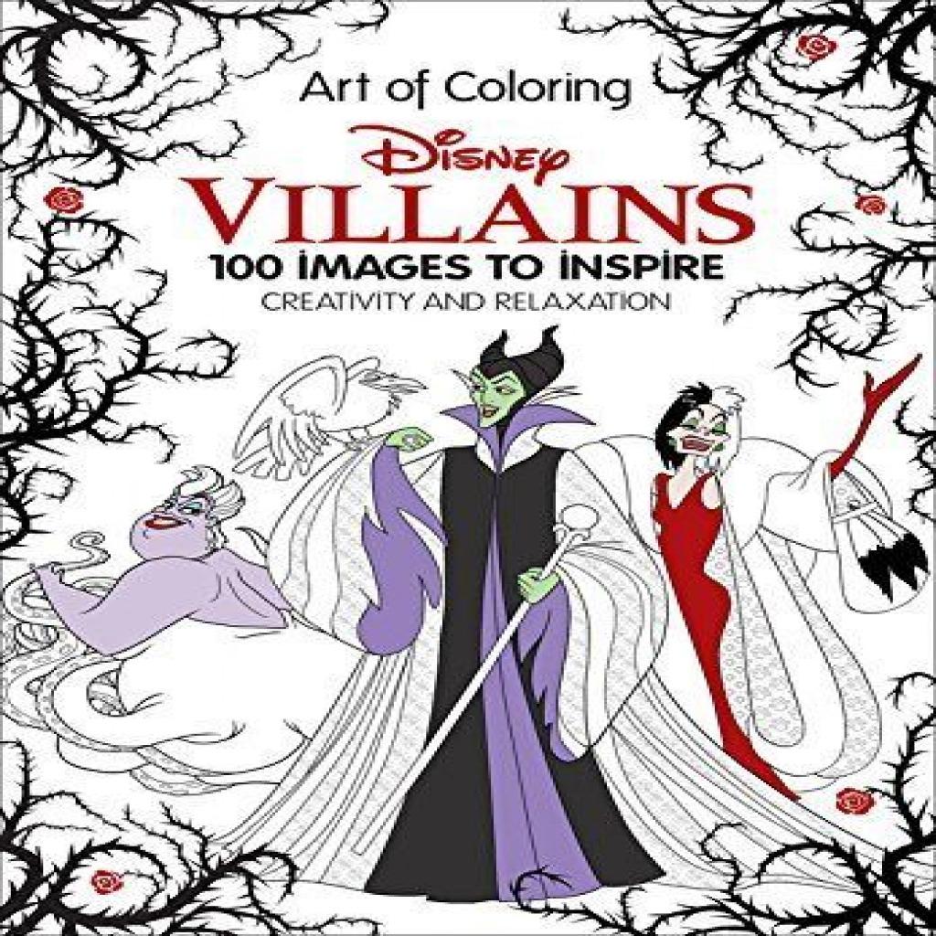 Disney Adult Coloring Book