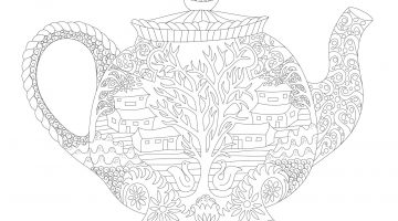 Giant Coloring Pages For Adults