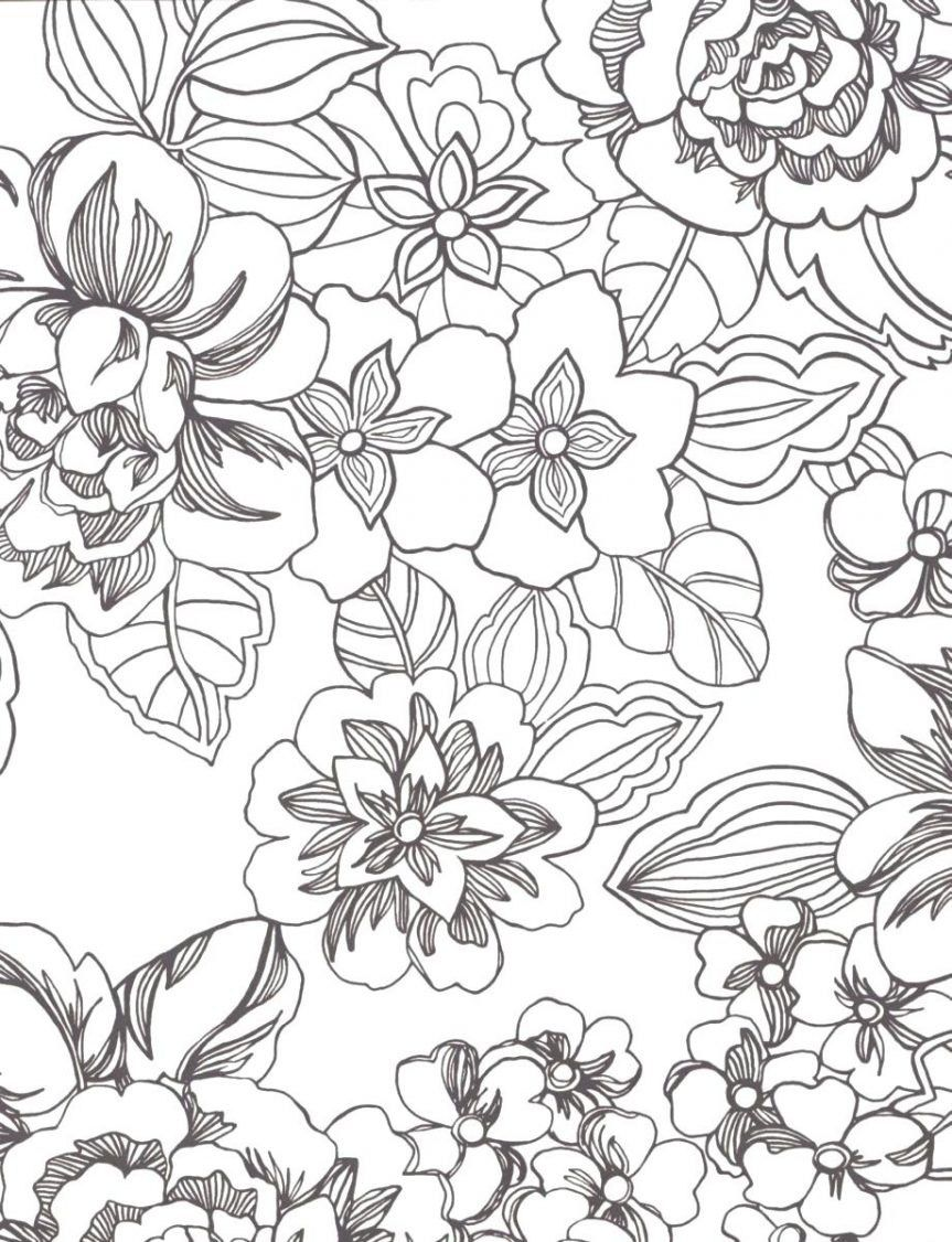 Impeccable Tropical Flower Coloring Pages 11 O Coloring Pages