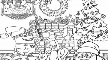 Coloring Pages Of Bob The Minion