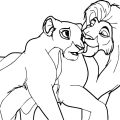 Lion King Coloring Pages Kovu