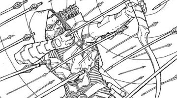 Dc Coloring Books For Adults