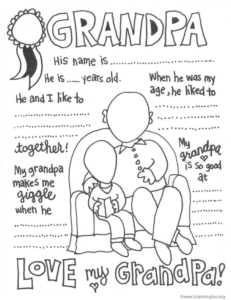 Coloring Pages ~ Grandparentsring Pages Photo Inspirations Of Free