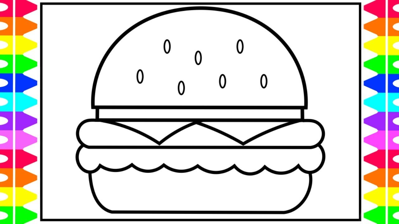 Food Coloring Pages – With Childrens Colouring Also Thomas The