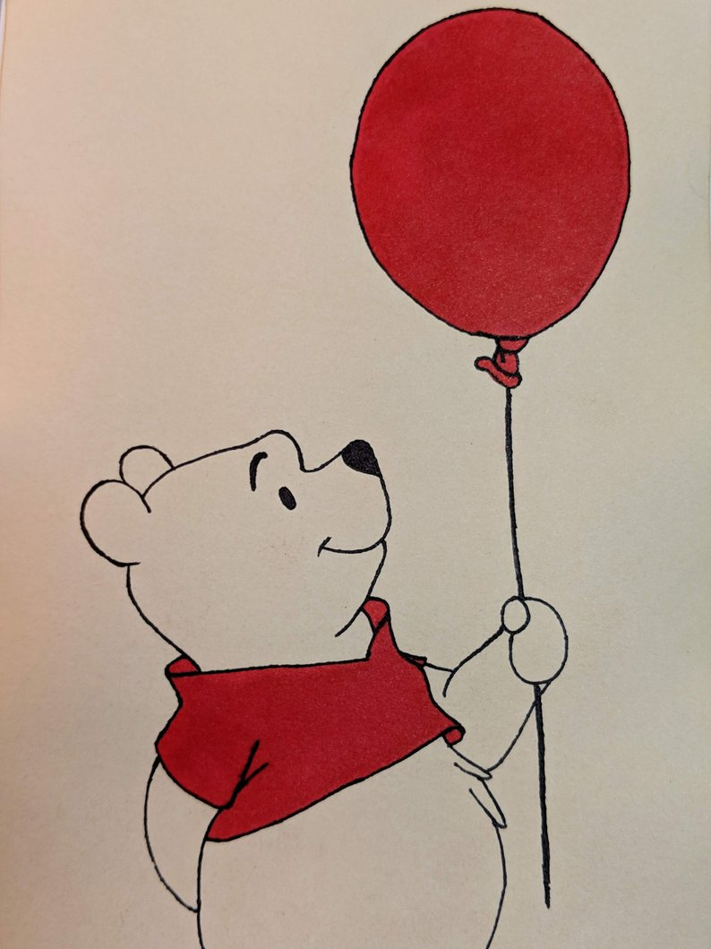 Winnie The Pooh Color