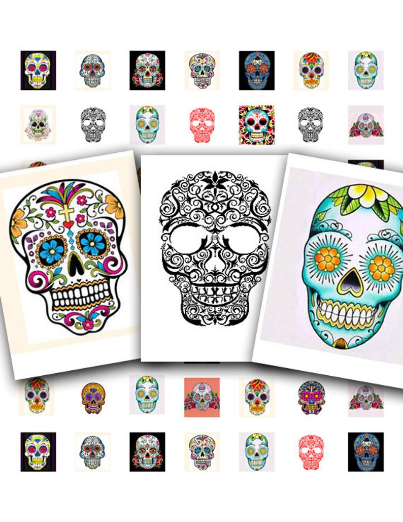 Sugar Skull Tattoos Dia De Los Muertos Day Of The Dead