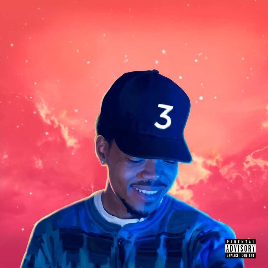 Chance The Rapper's 'coloring Book' Makes A Historic Debut On The