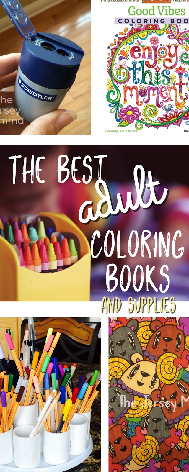 The Best Adult Coloring Books And Supplies
