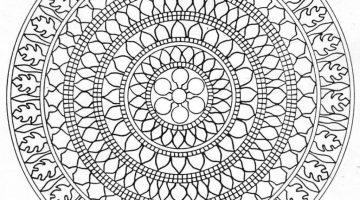 Meditation Colouring Pages