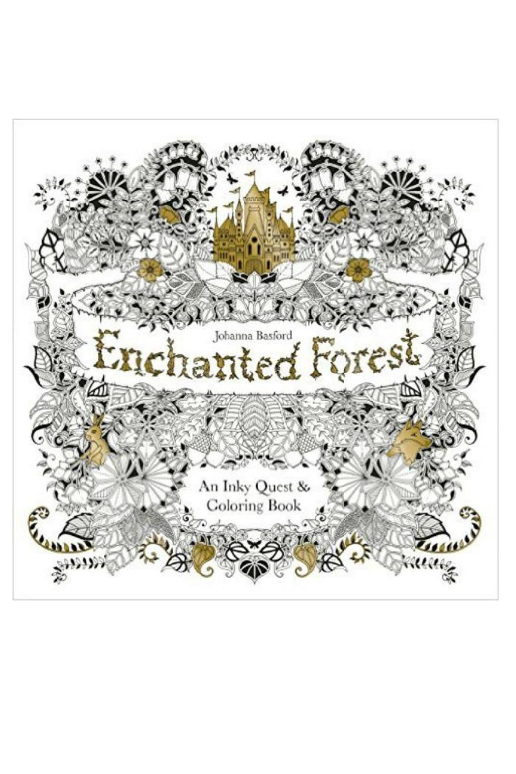 Johanna Basford Enchanted Forest Coloring