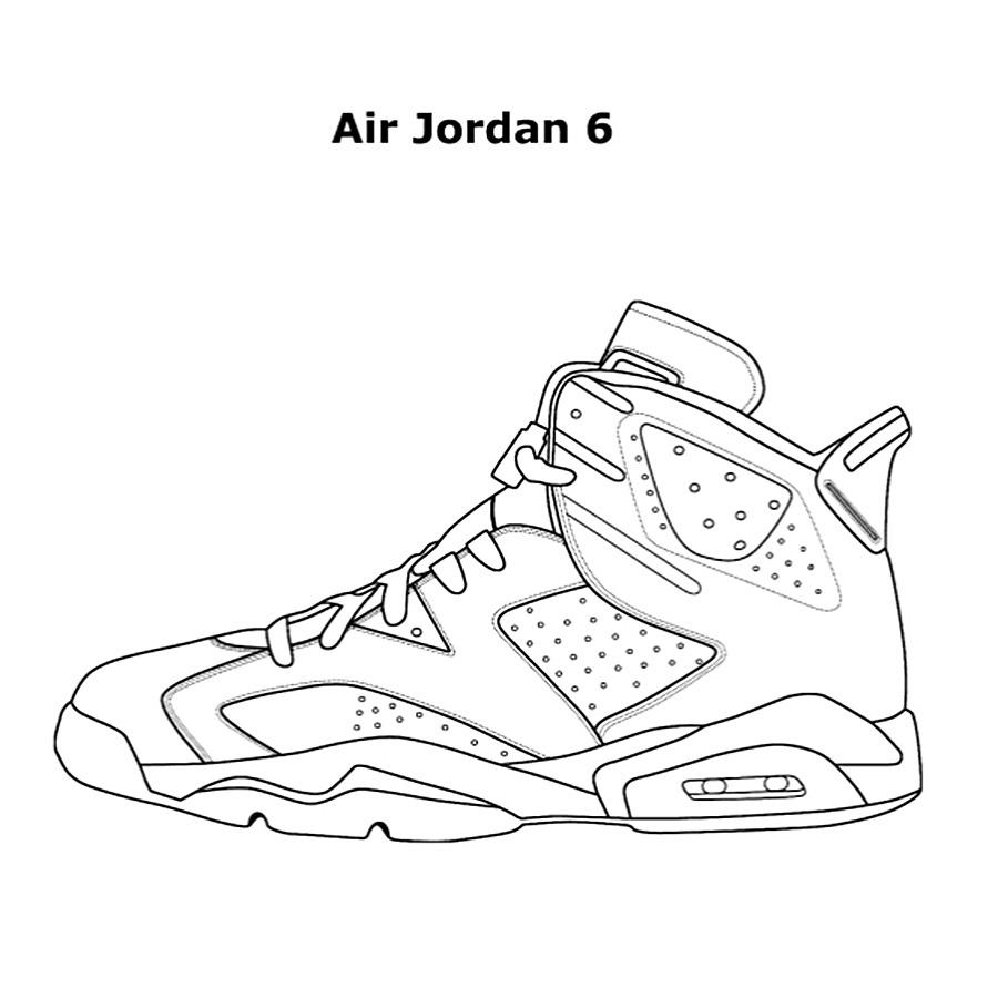 Jordan Coloring Book