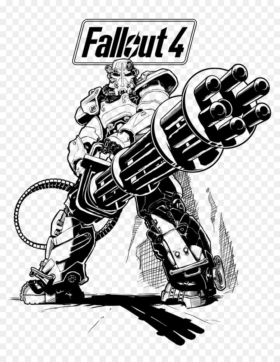 Fallout 4 Fallout 3 Fallout  New Vegas Drawing Coloring Book