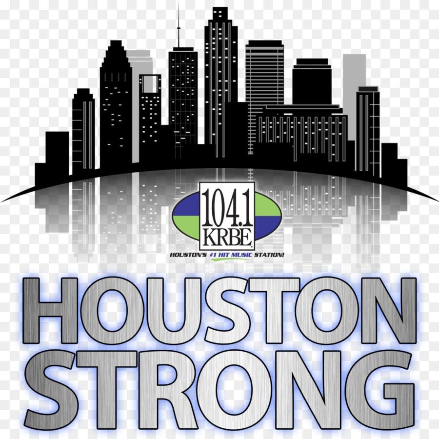 Houston Skyline Silhouette Royalty