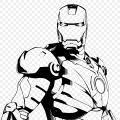 Drawing Of Iron Man