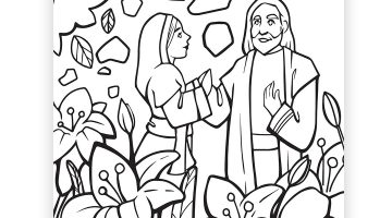 Lds Easter Coloring Pages