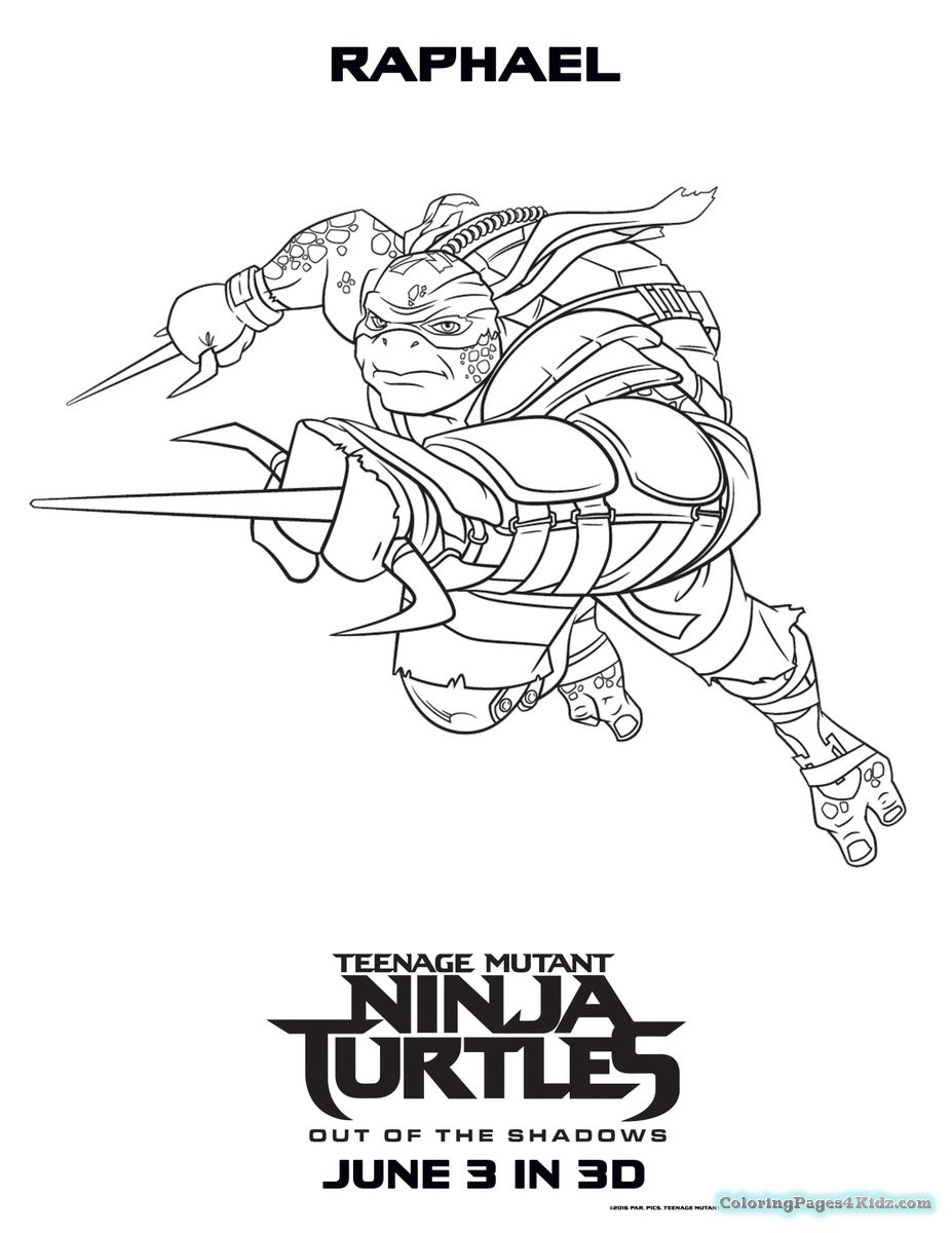 Teenage Mutant Ninja Turtles Coloring Book – With Heart Also Mlp