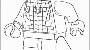 Coloring Pages Lego Super Heroes