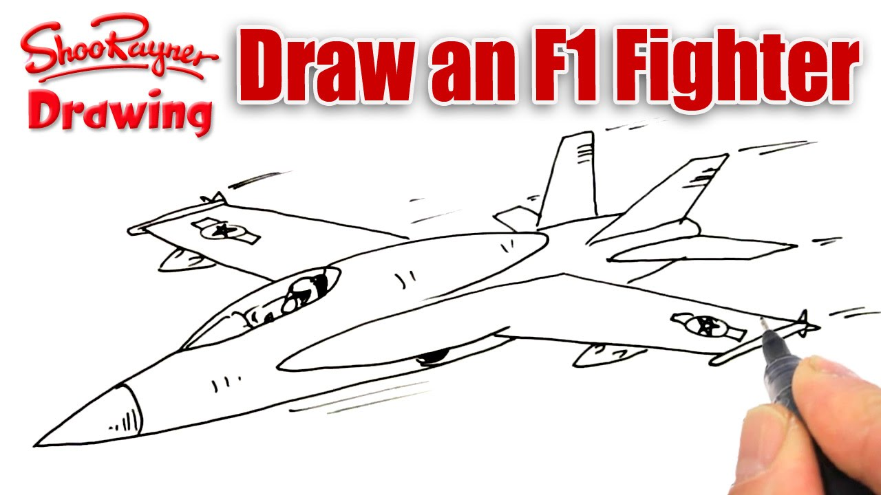 How To Draw An F