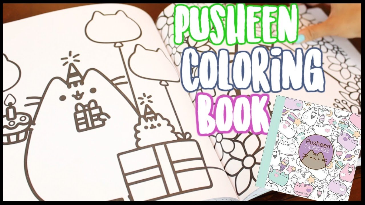 Pusheen Coloring Book!