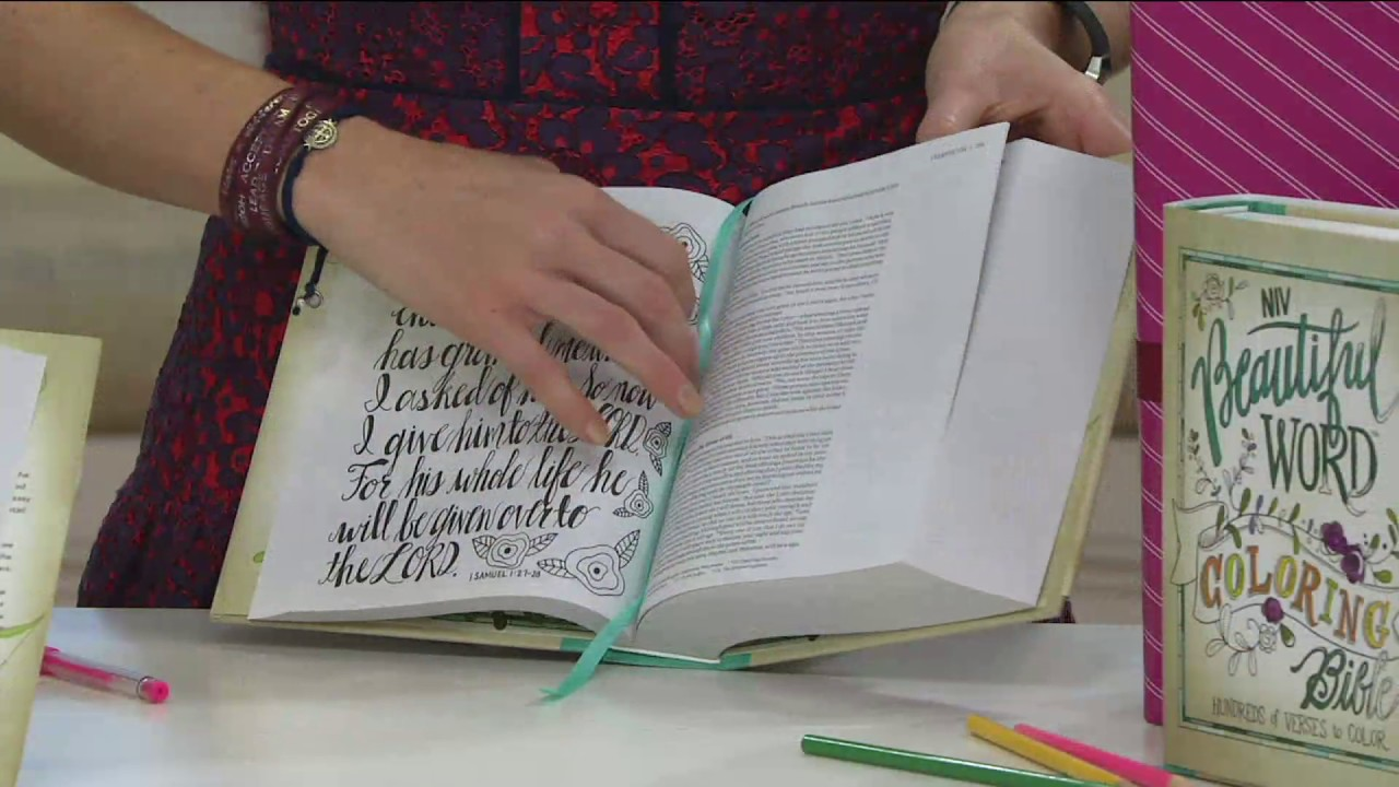 Beautiful Word Niv Coloring Bible On Qvc