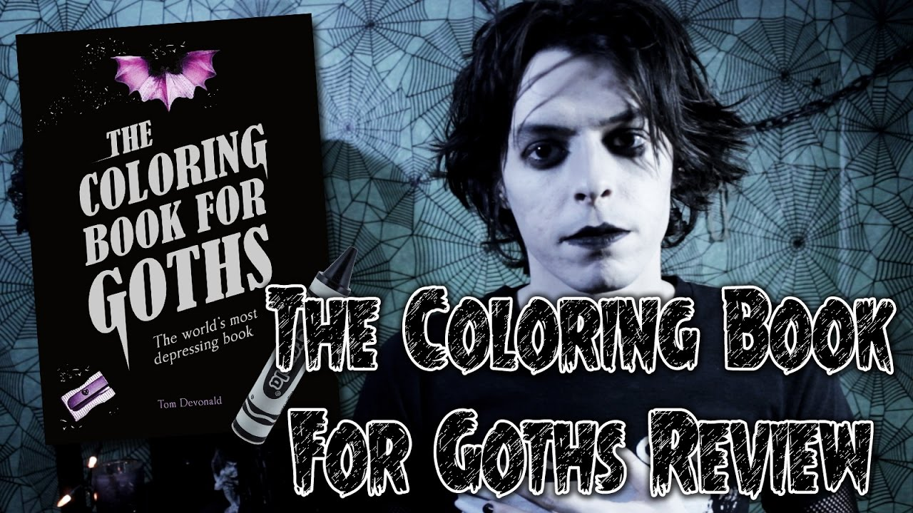 Goth Coloring Book Review