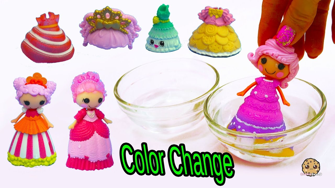 Lalaloopsy Color Changing Princess Dress Change In Water At